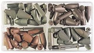24 ... Cratex 76 Piece Rubber Abrasive Point Set Includes 8 Tapered Edge Wheels