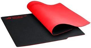 ASUS ROG Whetstone - Alfombrilla de ratón (Negro, Rojo, Monótono, 32 cm, 27 cm, 2 mm)