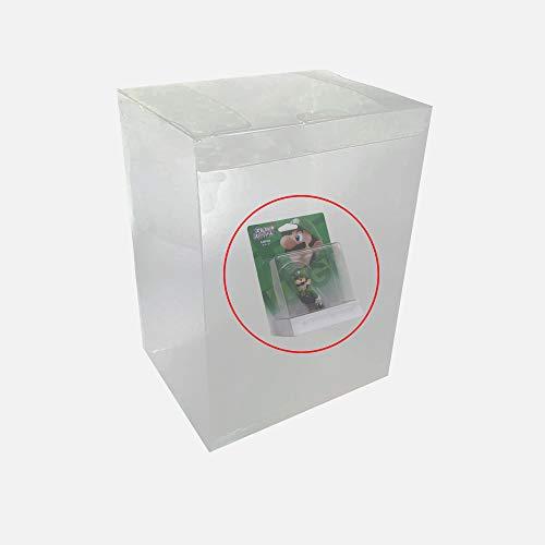 WiCareYo 10 cover protettiva in plastica trasparente adatta per personaggi in vinile Amiibo Super Smash Bros Serie