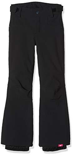 Roxy Creek-Pantalón Shell para Nieve para Mujer, Niñas, True Black, 12/L