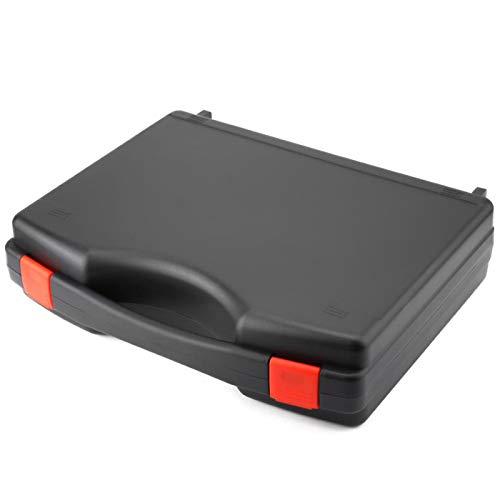 Caja de herramientas de fibra vacía resistente FTTH 330 x 260 x 80, color negro para herramientas de fibra óptica de red