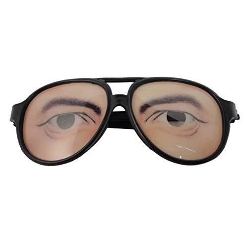 Halloween Cosplay Partei DIY Dekorationen Lustige Kostüm-Augen-Glas-Spielzeug Ferien Prop Brillen-Gag-Geschenk Topker