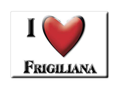 Enjoymagnets FRIGILIANA (MA) Souvenir IMANES DE Nevera ESPAÑA ANDALUCÍA IMAN Fridge Magnet Corazon I Love