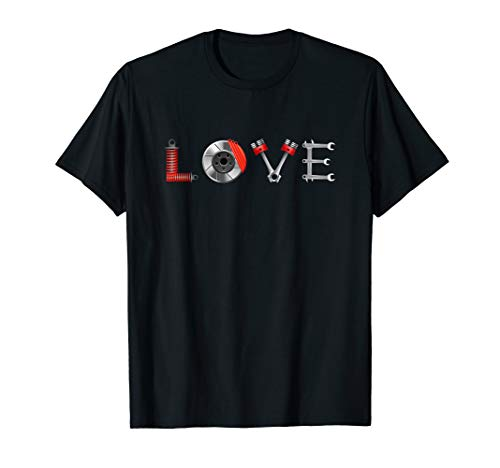 LOVE Tuning T-Shirt | JDM Auto Tuning Optik Geschenk T-Shirt