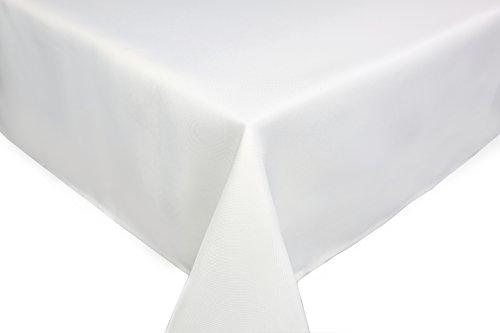 Home Direct Tovaglia da tavola, in poliestere, rettangolare 140x200cm