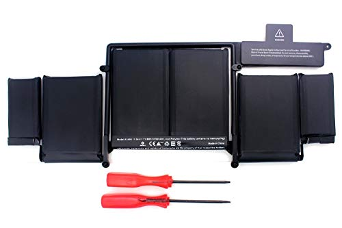 A1493 Battery Replacement for MacBook Pro Retina 13 inch A1502 (Late 2013, Mid 2014) [11.34V 71.8Wh]