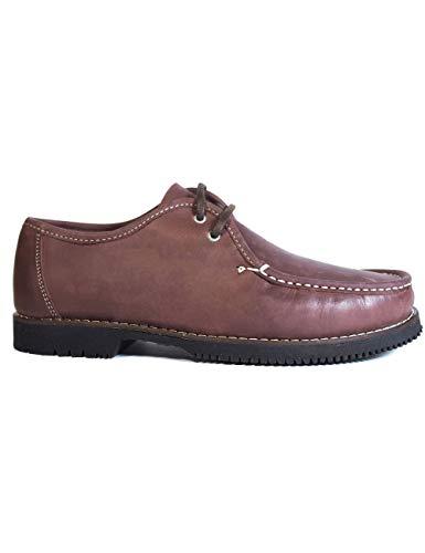 Zapatos náuticos Tipo Apache Unisex Wallabee Cordón...