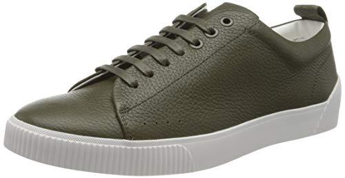 HUGO Herren Zero_Tenn_gr Sneaker, Grün (Dark Green 303), 46 EU