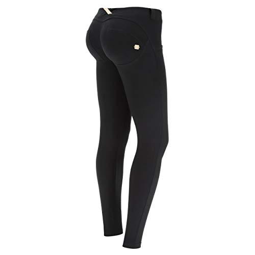 FREDDY Pantalone WR.UP Skinny Vita Bassa Lunghezza Regular in Cotone Elasticizzato - Black - Small