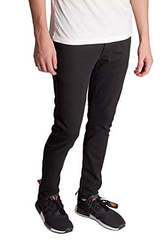 KDNK 5-Pocket Skinny Twill Pants Black 30W 30L