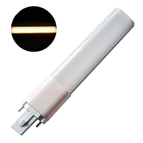 LED-Leuchtmittel, G23, energiesparend, AC85-265 V, Super-Birght, 4 W, 6 W, 8 W, 2-poliger Sockel, ultradünn, SMD2835, Aluminiumlegierung, warmweiß, 4w