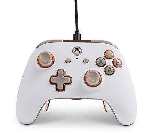 PowerA Kabelgebundener Controller Fusion Pro für Xbox One – weiß