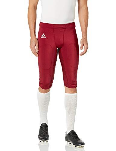 adidas Hyped Football Pant XL Collegiate Burgundy-White
