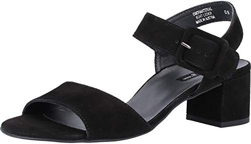 Paul Green 7456 Damen Sandalen Schwarz, EU 38