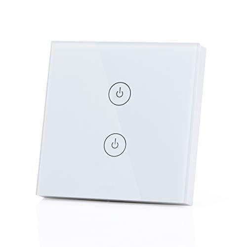 meross Interruptor Táctil de Pared Wi-Fi 1 Vía,...