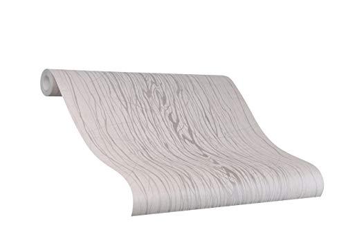 Tapete Greige Grau Struktur Risse Ideal für Wohnzimmer Colani Visions Made in Germany 10,05m X 0,70m 53331