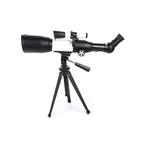 Binoculares para adultos, telescopio astronómico, monocular 116 veces, espejo para acampar en la montaña al aire libre para niños, refractor ciencia educativa con tríposúper liviano para principiant