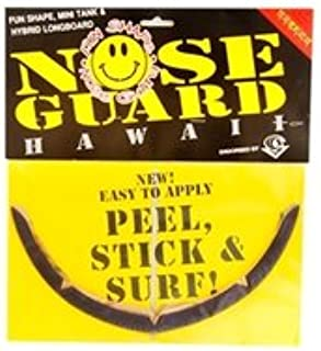 SURFCO Super Slick Nose Guard Long Longboard Black