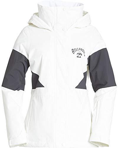 BILLABONG Damen Say What Snowboard Jacket Isolierte Jacke, schneeweiß, X-Klein