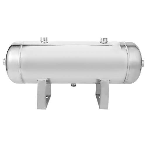 Plyisty Tanque de Aire de 10L/2.64 galones, compresor de Aire pequeño, Tanque de depósito de Aire Vertical de Alta presión de 5 Puertos, para Tanques de Almacenamiento de energía automotriz, Tanques