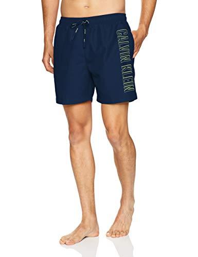 Calvin Klein Intense Power Drawstring Swim Shorts Large Blue Shadow