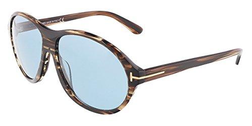 Tom Ford FT0398 6050J Sonnenbrille FT0398 6050J Groß Sonnenbrille 60, Braun
