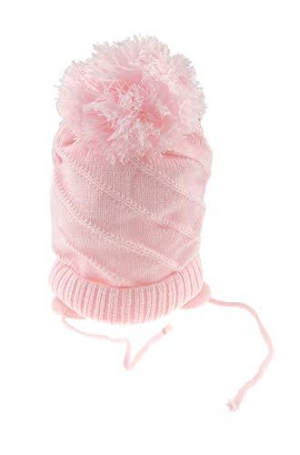 Bonnet doux pour bébé filles, garçons et filles rose rose 12-18 mois