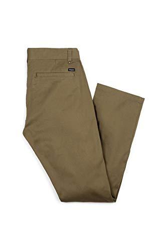BRIXTON–Pantaloni Uomo Pant, Uomo, Pant, Verde, 36