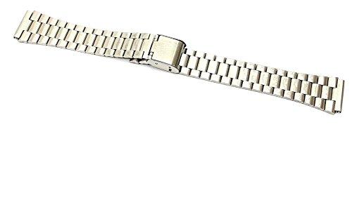 Cinturino in acciaio compatibile con orologi casio ansa 18mm a158wa watch starp