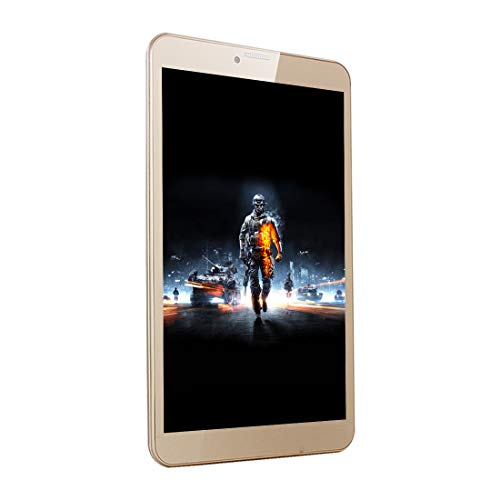 IKALL N1 4G Calling Tablet with 8-inch Display Dual Sim 1 GB RAM and 16 GB Internal Memory (Gold)