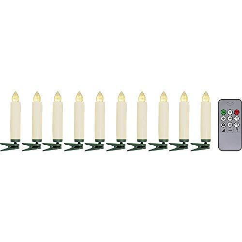 Funk-Weihnachtsbaum-Beleuchtung Polarlite LBA-30-003a Warmweiß