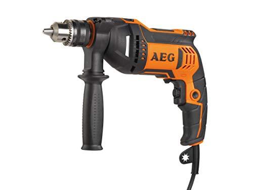 AEG SBE 750RZ Schlagbohrmaschine 650W, Port Aut. 10mm, par Maximum 23Nm
