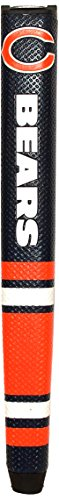 Review Team Golf NFL Chicago Bears Golf Putter Grip with Removable Gel Top Ball Marker, Durable Wide...