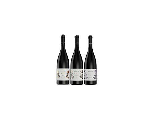 Etnazar - Tris vino rosso siciliano - Nero d'avola/Syrah/Merlot