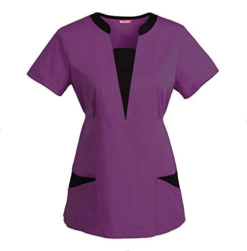 TAILOR'S Blusa médica de Mujer/Uniformes Médicos Enfermera Ddentistas