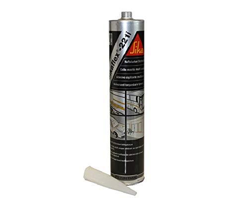 Sika Sikaflex 221 221i Dichtmasse - 300 ml, Farbe:schwarz