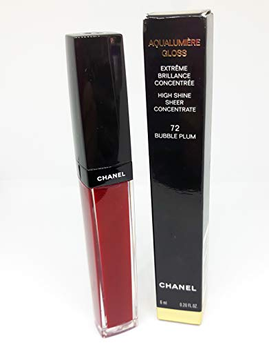 Chanel Aqualumière Gloss 72 Bubble Plum 6 ml