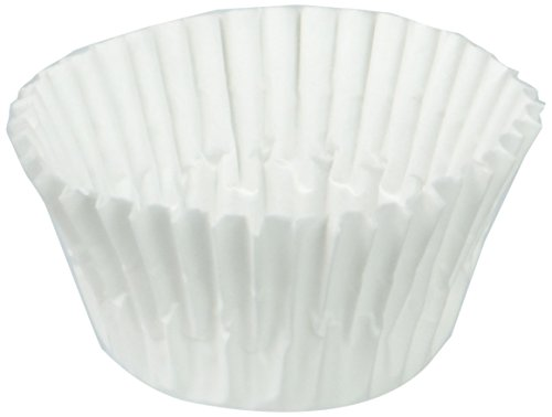 A World of Deals Small Size White Cupcake Paper - Baking Cup - 1 Pack SMALL Cup Liners 500 Pcs