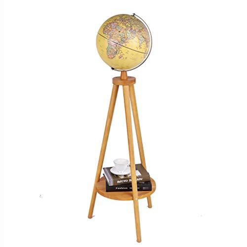 Antike Stehlampe Globen Dekorationen Wohnzimmer Studie dekorative Lichter Standleuchten (Farbe : B)
