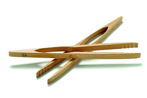 Zetzsche Grillzange aus Buchenholz von 46cm