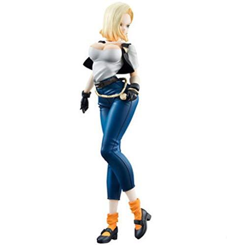 Jaypar Nuevo Dragon Ball Figura Android 18 Figura Anime Girl Figura Sexy Figura Figura de acción