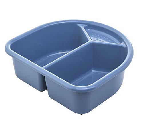 Rotho Babydesign Bassine de lavage, 4l, À Partir de 0 Mois, TOP/Bella Bambina, Bleu Froid, 20006 0287