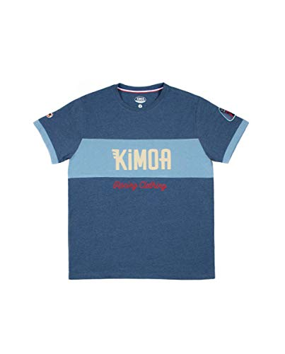 Kimoa Camiseta Car Co, Unisex Adulto, Azul, S