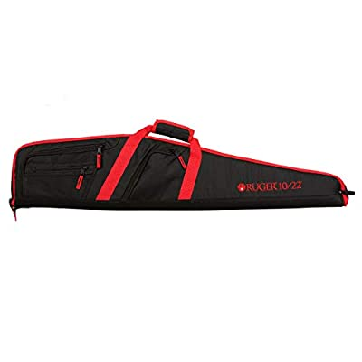 Allen Company 375-40 Ruger Flagstaff 10/22 Scoped Soft Carrying Gun Case, 40 inches, Black/Red