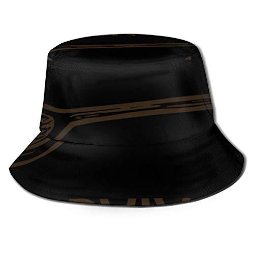 Lawenp Cuchara de Madera Sombrero de Cubo de superviviente Unisex Plegable Verano Cubo de Viaje Sombrero de Sol Boonie Gorra de Pescador al Aire Libre