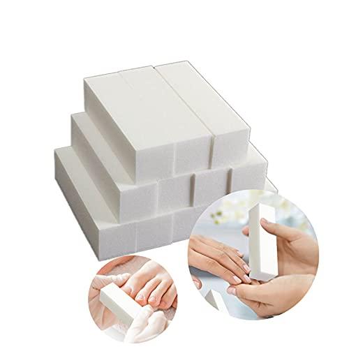 Zreal 12 pièces. Blocs de ponçage tampon blancs. Grit manucure Nail Art Tips Tool