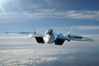 hunand 40x50 Blanket Comfort Warmth Soft Plush for Couch Sukhoi T50 Fighter Jet Military Plane Russian Airplane