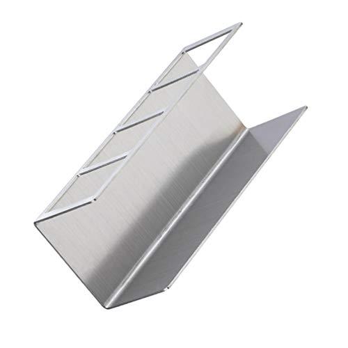 Cabilock Soporte para cepillo de dientes de acero inoxidable para montaje en...