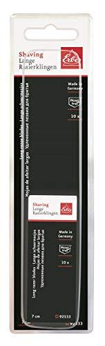 Rostfrei Rasierklingen Erbe Solingen Stainless Steel Edel Stahl Lang 10 Stück