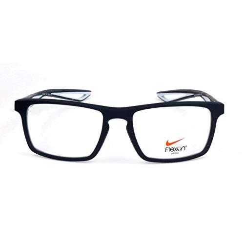 NIKE 4280 034 53 Monturas de gafas, Obsidian/Pure Platinum, Unisex-niños